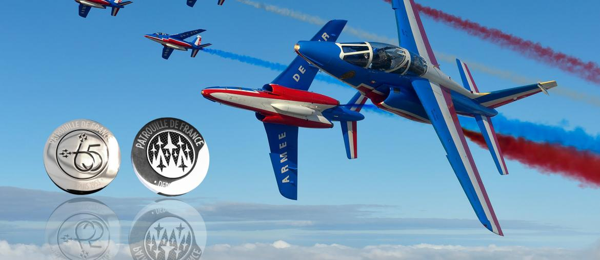 COIN Tradition Patrouille de France