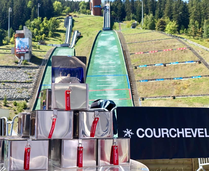 Coupe du Monde de Saut à Ski à Courchevel