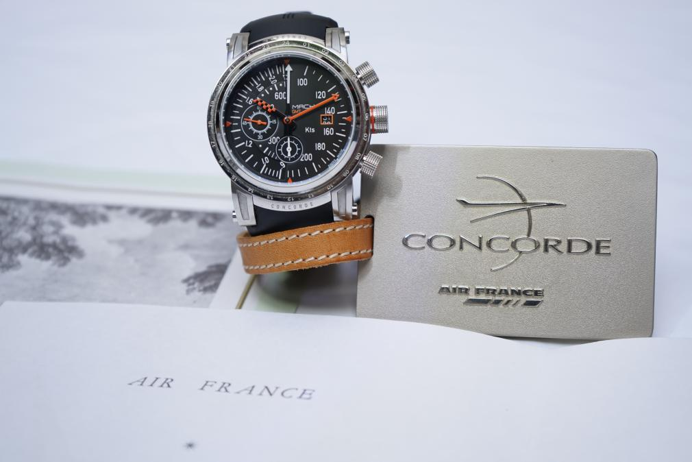 MACH WATCH Modèle Concorde AirSpeed