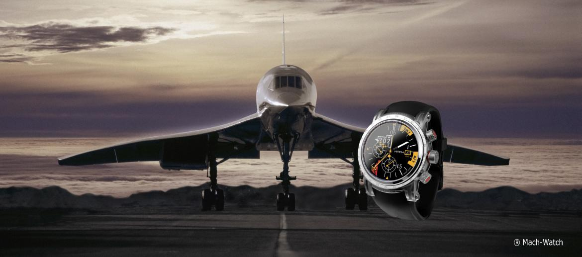 50 ans Concorde: la nouvelle MACH WATCH MACHMETER