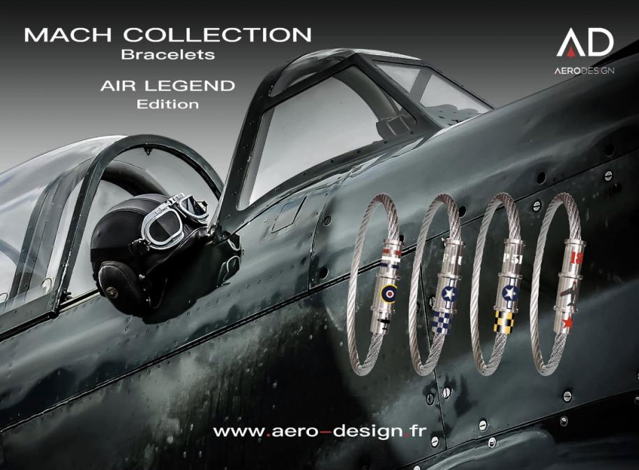 Nouveau bracelet Mach 2 Edition 'AIR LEGEND'